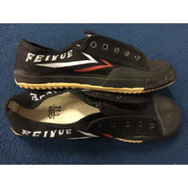 Zapatillas Feiyue Originales Color Negro - Caws Wushu