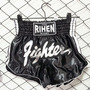 Shorts Muay Thai Rihen Negro Fighter Box Inn Office