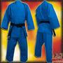 Uniformes De Judo Azules Shiai Judoguis Judogi Talles 0 A 4