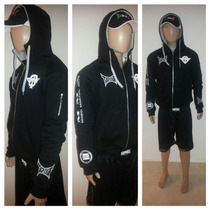 Campera Mma Tapout!!! Última Talle S