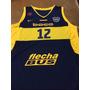 Camiseta Boca Juniors Basquet Modelo 2016 Envios Talles !!!