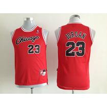 Camiseta Nba Jordan Chicago Bulls Para Chicos Envíos T/país!