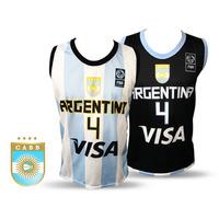 Camiseta Seleccion Argentina Basquet P/adulto Infantil Niño