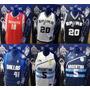 Camiseta De Basket Para Niño Oficiales Nba Talle 10 Y 14