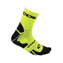 Soquete Para Ciclismo Marca Colner Verde Fluor