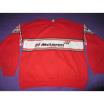 Buzo Del Equipo Mc Laren International F1 Talle Xl Rojo