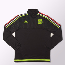 Buzo Adidas De Entrenamiento Selección Mexicana 2014/2015