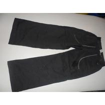 Pantalon Nike Studio De Mujer Gris Oscuro Talle S