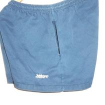 Short Rugby Marca Mitre Azul Oscuro Talle 6 Tela 100%algodon