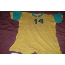 Antigua Camiseta De Pique Colores Brasil