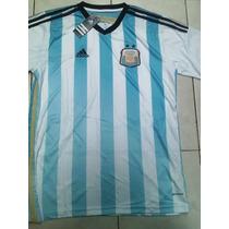 Camiseta Argentina Afa 2014 Talle Xl Nueva