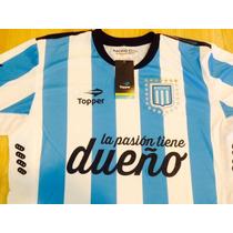 Camiseta De Racing Topper 2015 La Pasion Tiene Dueño Tenelaa