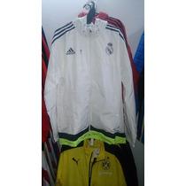 Campera Travel Adidas Del Real Madrid/e.gratis