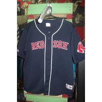 Camiseta De Baseball Red Sox Original Majestic Ortiz