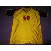Camiseta 50 Cent Amarilla Traida De Eeuu