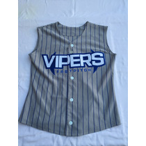 Casaca Mlb Usa,new York Vippers #14,talle S Nueva