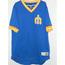 Espectacular Camiseta Baseball Seattle Mariners #51 Johnson