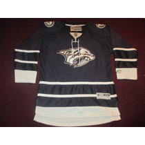 Camiseta Jersey Hockey Nashville Predators Reebok Nhl Small