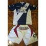 Camiseta + Short Fútbol Deportivo Merlo Reusch T. M Conjunto