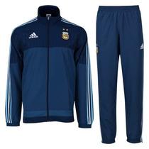 Conjunto Adidas Selección Argentina Modelo Pres Suit 2015