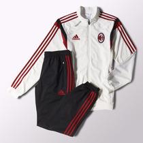 Conjunto Adidas De Entrenamiento Ac Milan 2014/2015