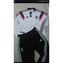 Conjunto Adidas Real Madrid Microfibra