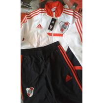 Conjunto Adidas Origina River Plate Traje Presentacion Suit