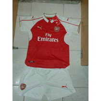 Camiseta + Short Arsenal Niños