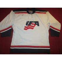 Camiseta Jersey Hockey Usa Estados Unidos Nike Nhl Nike