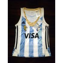 Camiseta Hockey Las Leonas Adidas Titular 2013 Niña Talle:12