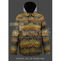 Campera De Snowboard Burton Land Line Restricted