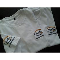 Remeras Lisas Con Tu Logo, Estampado O Bordado De Calidad!!