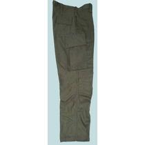 Pantalón Militar Modelo Ejército Rip Stop Verde Y Camuflados