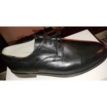 Zapatos Para Uniforme De Hombre - Bomberos -