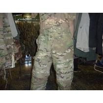 Conjunto Pantalón Y Remera Camuflado Multicam - Turdera