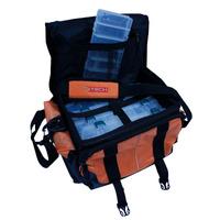 Bolso De Pesca Tech Extreme - Cajas Incluidas! Super Precio