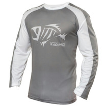 Remera Gloomis Technical Sublimated Ls Tee Color Gray X L