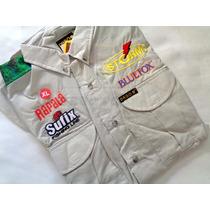 Camisa Pesca Xl Usa Dago Secado Rápido Manga Larga