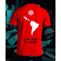 Remera Niño River Campeon Copa Libertadores 2015 P Chicos