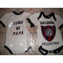 Camisetas De Futbol-recien Nacidos San Lorenzo--etc