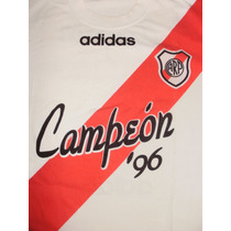 Remera River Plate Adidas Campeón 96 Edición Limitada
