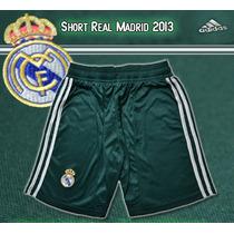 Short Real Madrid Alternativo Original Adidas Temporada 2013