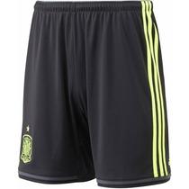 Short España Suplente Original Adidas Temporada 2015