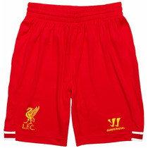 Short Liverpool Lfc 2013-14 Home - Warrior