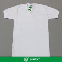 Art711 Camiseta Térmica Manga Corta Escote V - Ludens