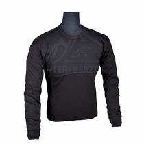 Camiseta Pechera Negra. Consultar Stock