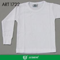 Camiseta Térmica Para Niño M/ Larga Escote Redondo - Ludens