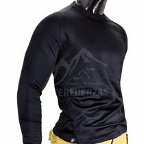 Camiseta Termica Tecnica Frizada Anti Bacterial Montañismo