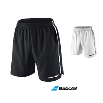 Short Bermuda Babolat De Tenis Paddle | Blanco - Negro Tg