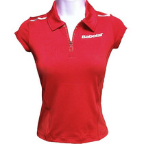 Remera Babolat Polo Competition (mujer) (azul) /theroshop